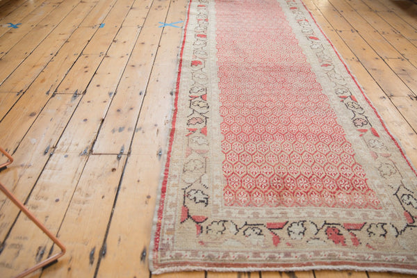Vintage Distressed Oushak Rug Runner / Item ee003037 image 14