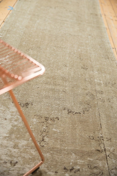 Vintage Distressed Oushak Rug Runner / Item ee003048 image 5