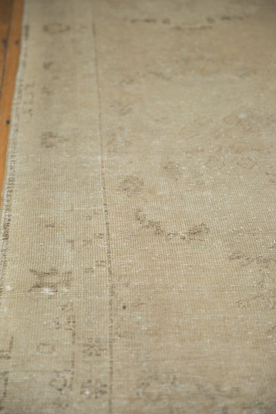 Vintage Distressed Oushak Rug Runner / Item ee003048 image 7