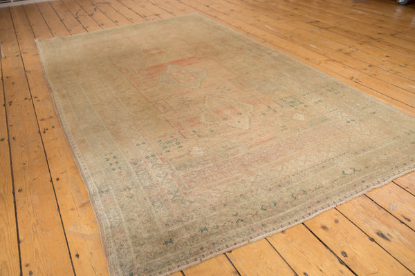 Vintage Distressed Oushak Carpet / ONH item ee003619 Image 2