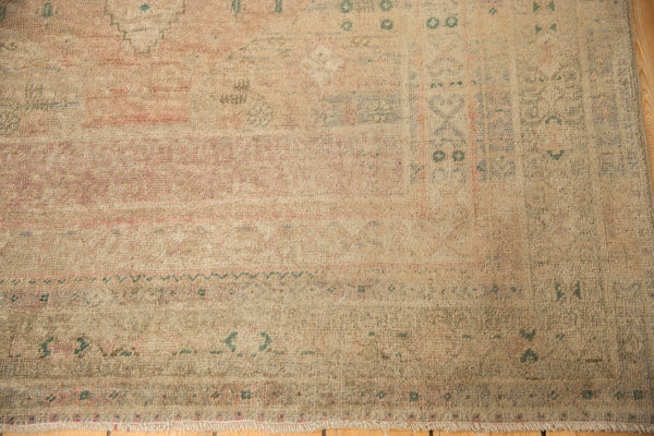 Vintage Distressed Oushak Carpet / ONH item ee003619 Image 6