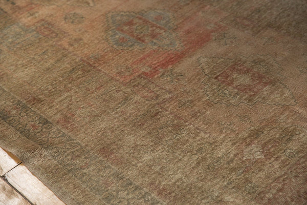 Vintage Distressed Oushak Carpet / ONH item ee003619 Image 8