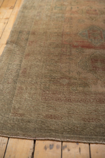 Vintage Distressed Oushak Carpet / ONH item ee003619 Image 10