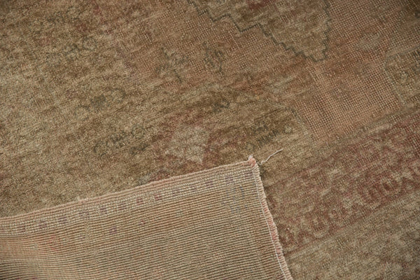 Vintage Distressed Oushak Carpet / ONH item ee003619 Image 12