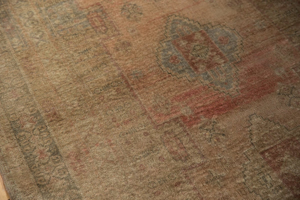 Vintage Distressed Oushak Carpet / ONH item ee003619 Image 13