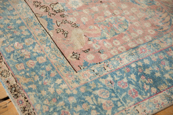 Vintage Distressed Tabriz Carpet / ONH item ee003638 Image 3