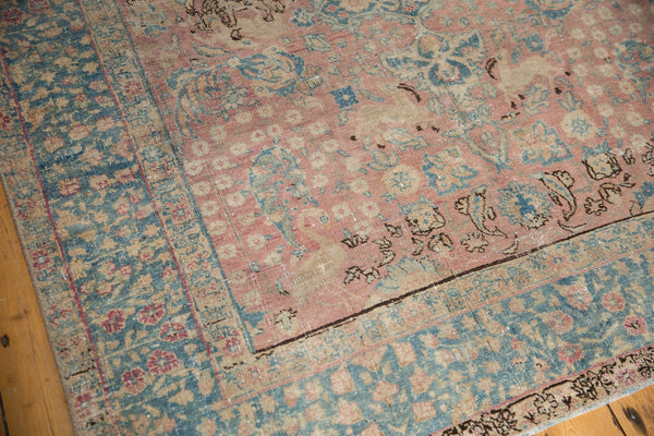 Vintage Distressed Tabriz Carpet / ONH item ee003638 Image 4
