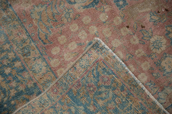 Vintage Distressed Tabriz Carpet / ONH item ee003638 Image 12