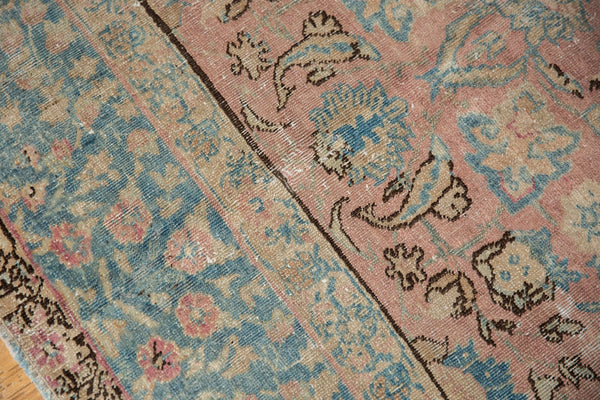 Vintage Distressed Tabriz Carpet / ONH item ee003638 Image 13