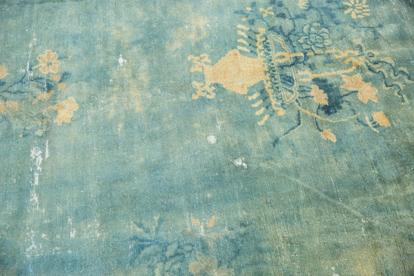 Antique Distressed Peking Carpet / Item sm001375 image 3