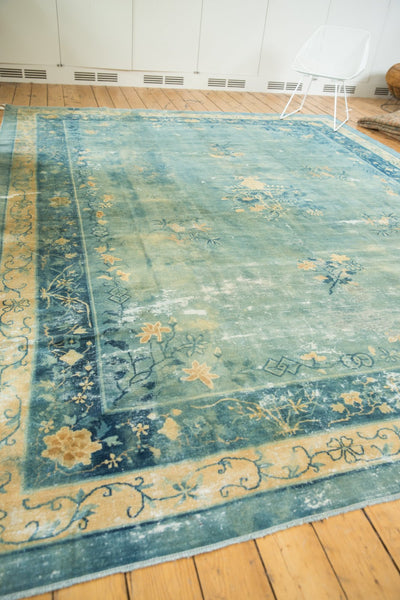 Antique Distressed Peking Carpet / Item sm001375 image 12
