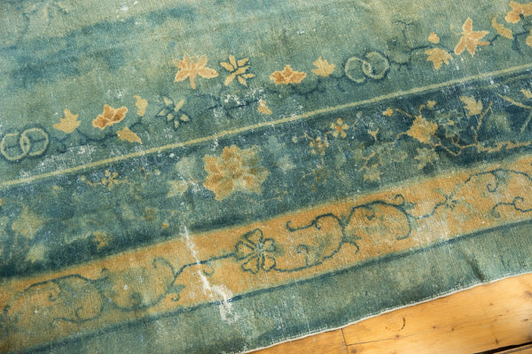 Antique Distressed Peking Carpet / Item sm001375 image 16