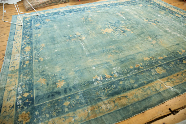 Antique Distressed Peking Carpet / Item sm001375 image 17