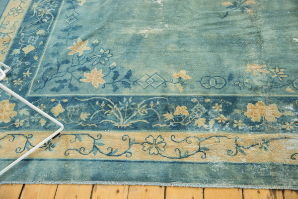 Antique Distressed Peking Carpet / Item sm001375 image 18