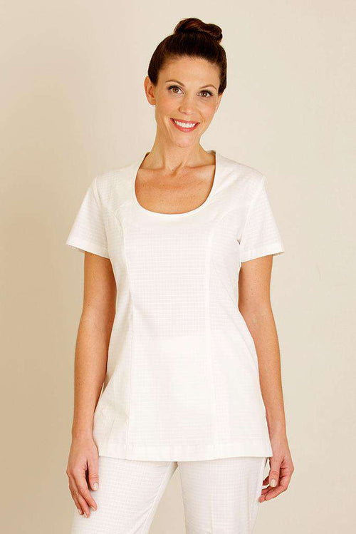 Una Spa Tunic White - Fashionizer Spa
