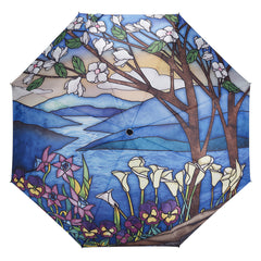 Stained Glass Landscape