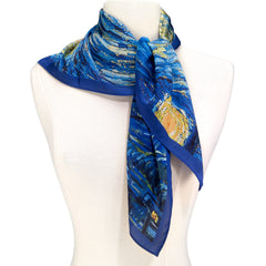 Van Gogh Starry Square Scarf