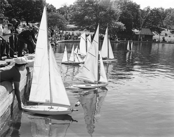Central Park, Model Boat Regatta, 1962