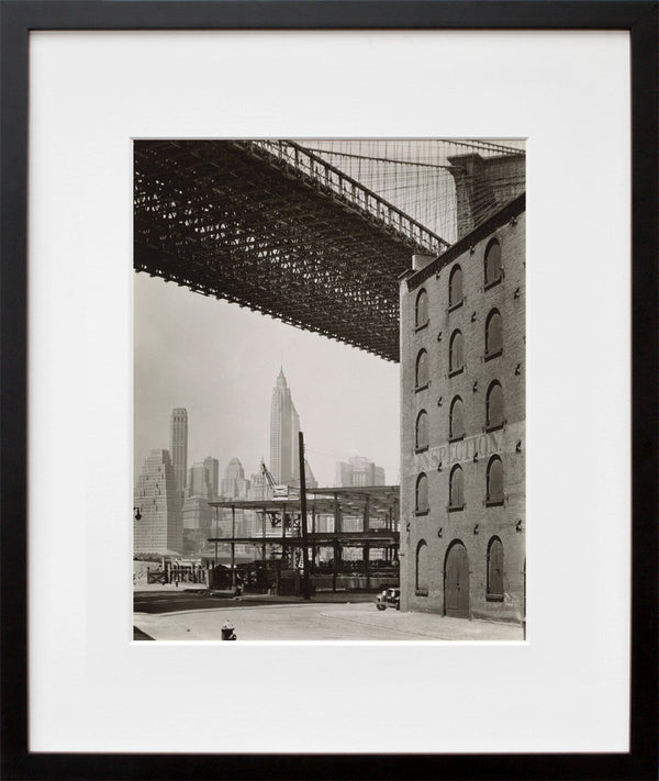 Brooklyn Bridge, Water and Dock Streets, looking southwest, Brooklyn