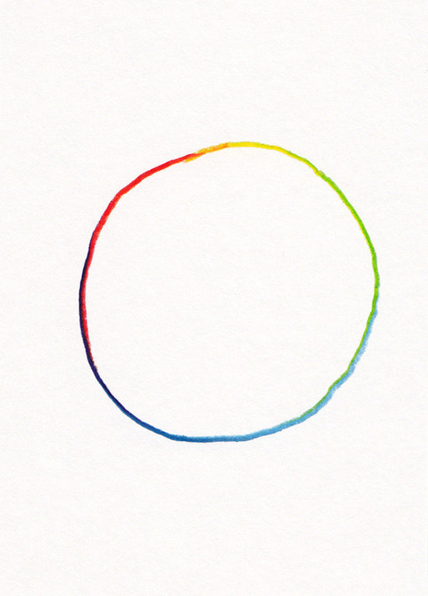 All of the Colors: Hand Drawn Circle