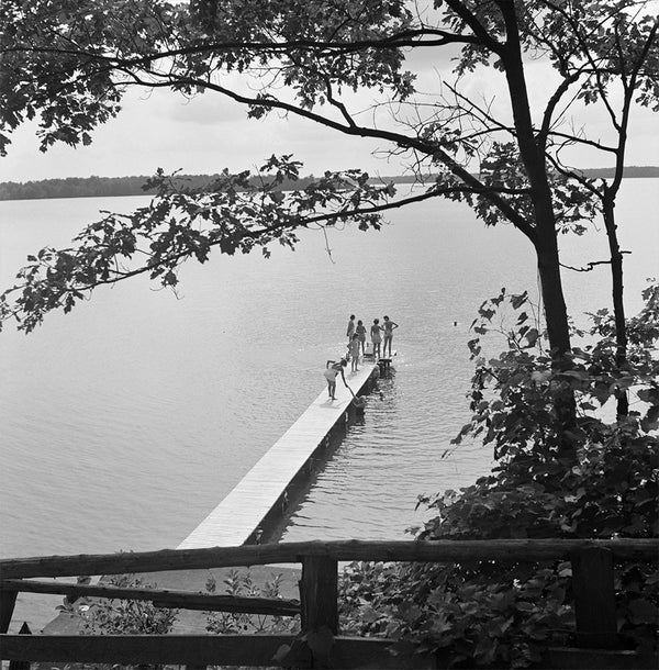Interlochen, Michigan. Swimming Dock