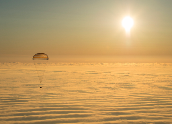 Expedition 42 Soyuz Landing