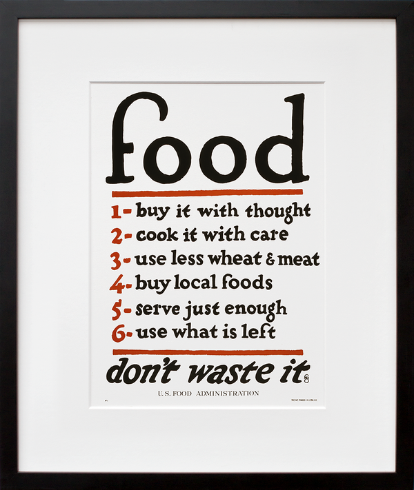 Food–don't waste it