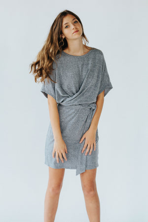 Annette T-Shirt Dress in Blue