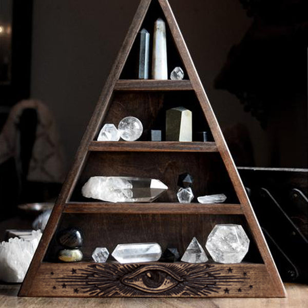 "The Original All Seeing Eye Shelf - 14.5"" tall"