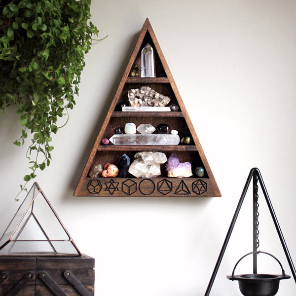 "The Original Sacred Geometry Shelf - 14.5"" tall"
