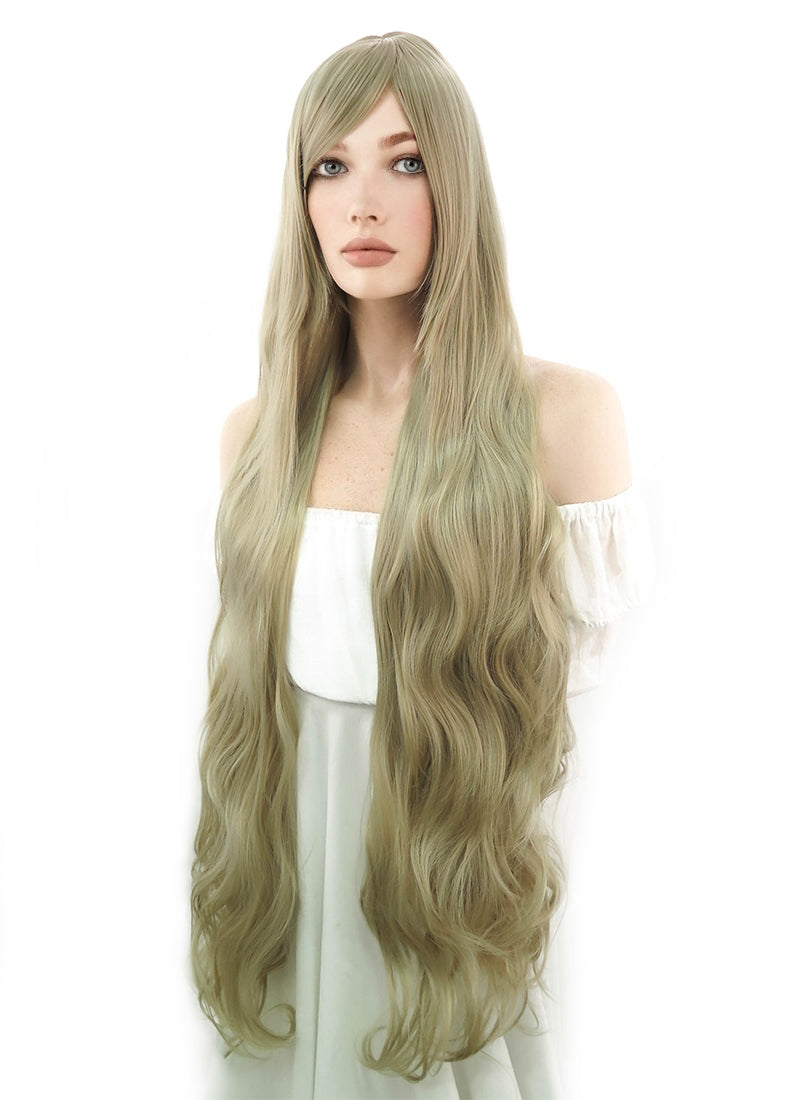 Long Curly Medium Blonde Cosplay Wig PL471 - CosplayBuzz