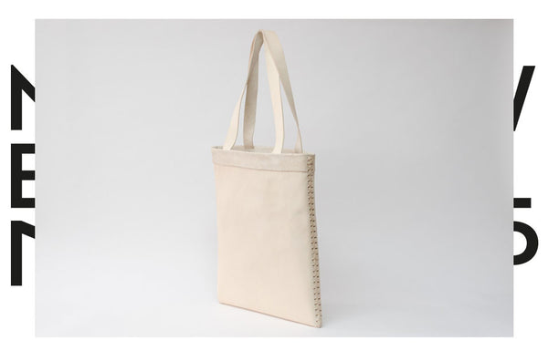 Natural Leather Tote Bag