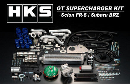 HKS GT Supercharger for Scion FR-S / Subaru BRZ