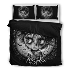 View Image of Bat Moon Rising Bedding Set