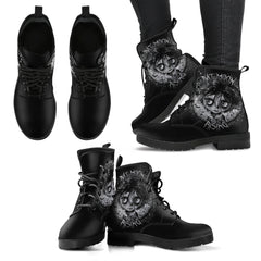 View Image of Bat Moon Rising Women's Leather Boots