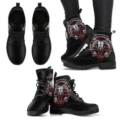 View Image of Brutal Baphomet Women's Leather Boots