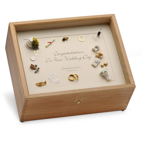 Wedding Memory Box (Black on Cream)