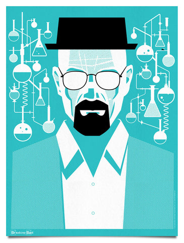 Breaking Bad [Blue]- Heisenberg