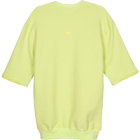 ADBD Standard S/S Loop Terry Crew Pullover (Lime)