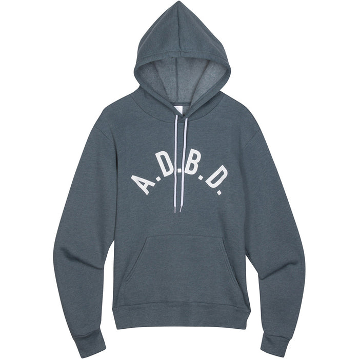Curved A.D.B.D. Hoodie (Blue)