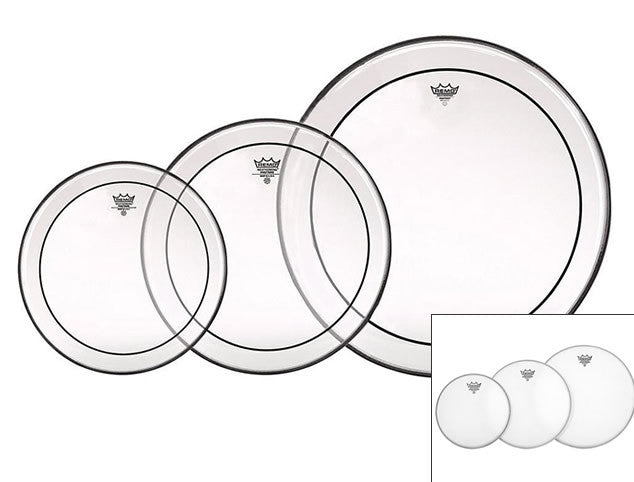 Remo Drum Head Pack: Coated or Clear