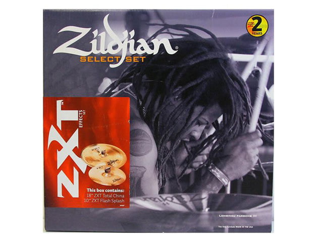 Zildjian ZXT 2SP Effects Cymbal Pack with a 10