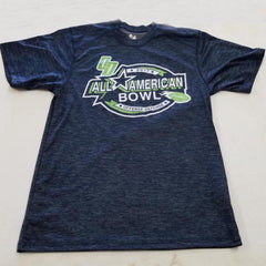 2017 AA Bowl Navy Short Sleeve Tonal Dry Fit