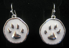 Paw Earrings (Choice of 2 Colors)