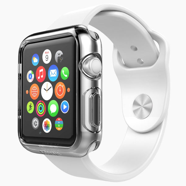 Apple Watch Case - Premium TPU Apple Watch 42mm Case Liquid Crystal Clear - SimplyASP Tech