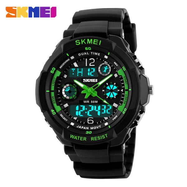 SKMEI 0931 Men Sports Watches Digital LED Quartz Military Wristwatches rubber strap 2017 s shock Luxury Brand relogio masculino - Free + Shipping - SimplyASP Tech
