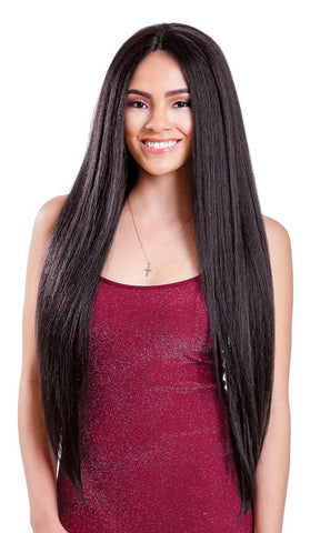 Diana Brazilian Secret Human Hair Master Mix Lace Front Wig - HBW Olivia Girl