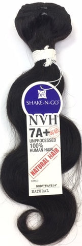 Shake N Go 7A+ 100% Unprocessed Human Hair - Body Wave