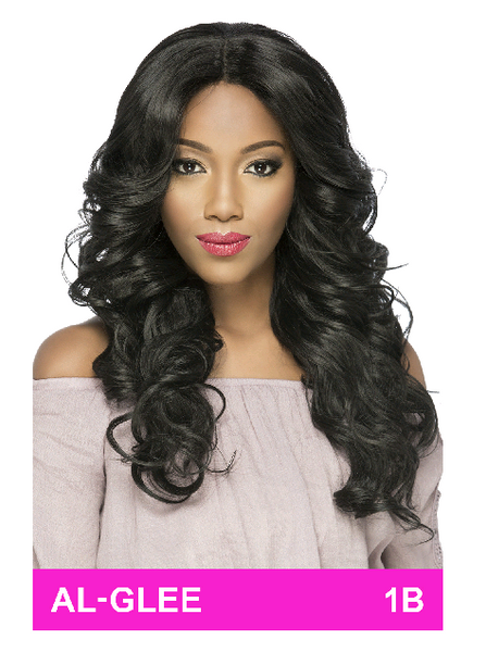 Amore Mio Everyday Collection Natural Baby Hair Swiss Lace Front Wig - AL Glee - Beauty Empire