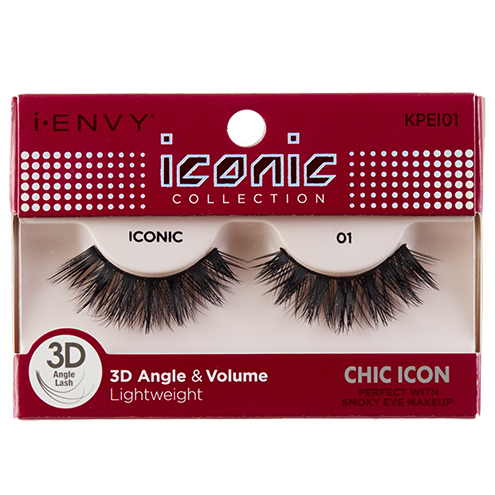 I-Envy Iconic Collection 3D Eyelash - Chic Icon KPEI01